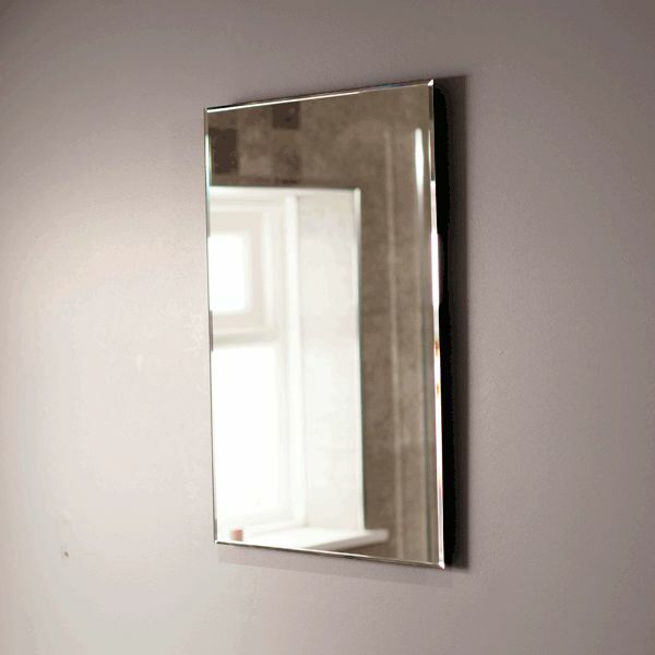Popular  Led Bathroom Mirror Illuminated Lighted Vanity Wall Mounted Mirror