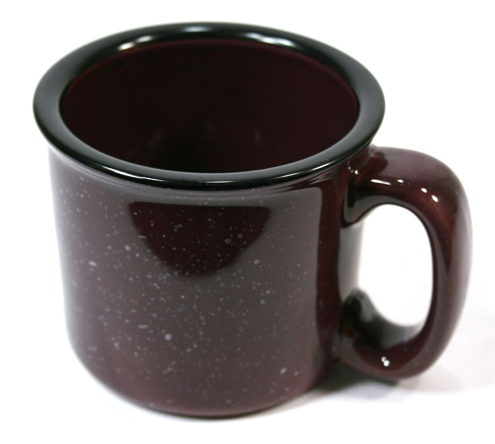 Ceramic Soup Coffee Mug Large Thick 1 1 2 Cup Capacity