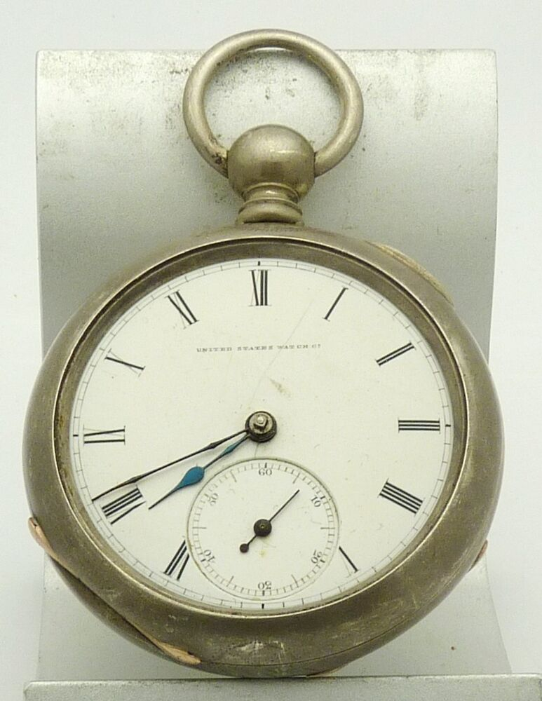 Sterling (CO) United States  city images : 1890 United States Watch Co Sterling Silver Case 18 Size Key Wind ...
