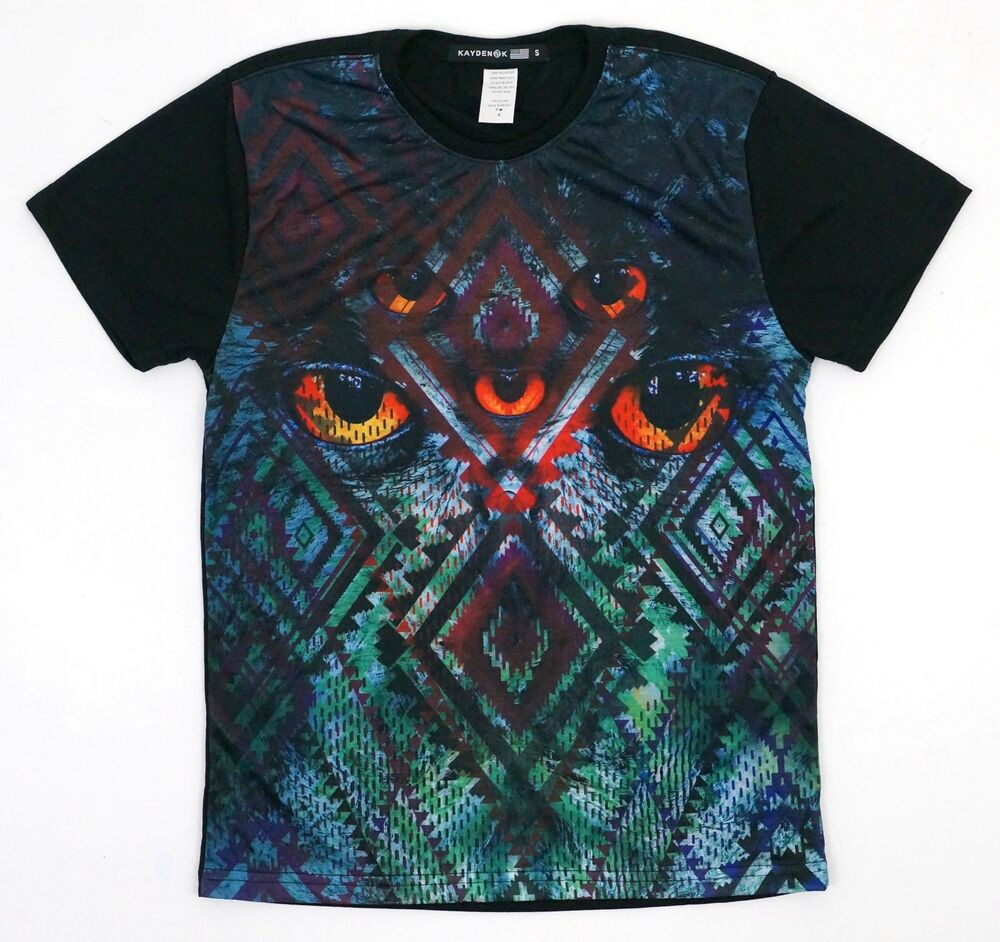 Kayden k men 39 s sublimation t shirt tribal print with red for Print a photo on at shirt