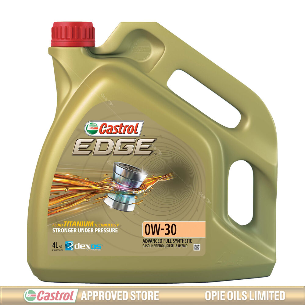castrol edge titanium 0w 30 fst synthetic engine oil 0w30 4 litres 4l ebay. Black Bedroom Furniture Sets. Home Design Ideas