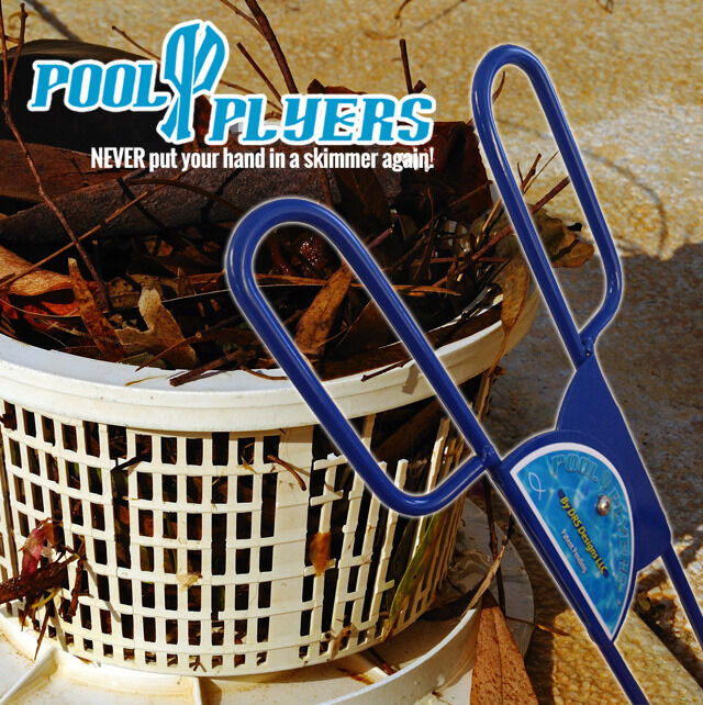 Pool Plyers Pool Skimmer Cleaner And Maintenance Tool For Cleaning Skimmers Ebay