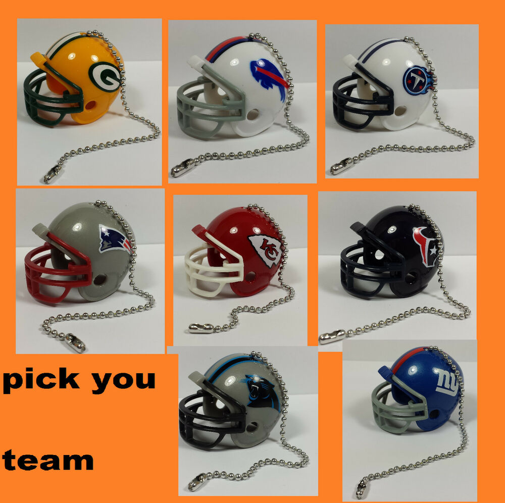 NEW NFL Ceiling Fan Helmet Pull Chain Lamp Pull Chain ...