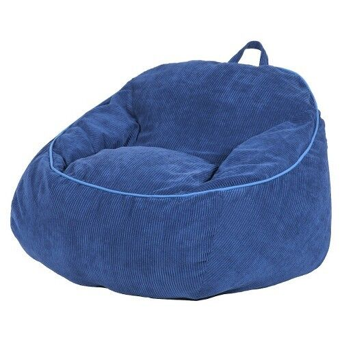 Corduroy beanbag chair xl circo ebay for Oversized kids chair