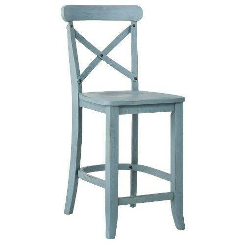 French Country X Back 24 Quot Counter Stool Ebay