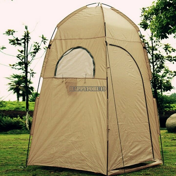 Camping Shower Shelter Portable Outdoor Tent Camp Gear