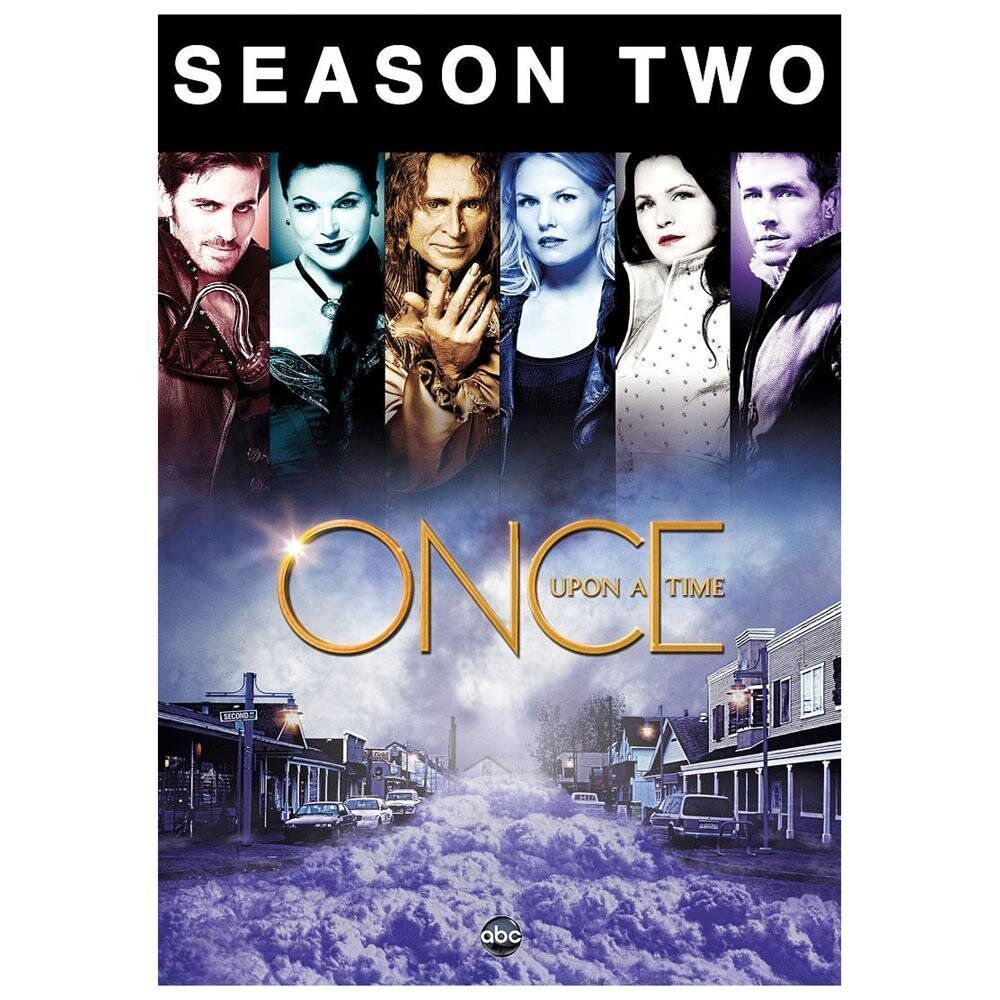 2013 Bluebonnet Season Is Upon Us: Once Upon A Time: The Complete Second Season (DVD, 2013, 5