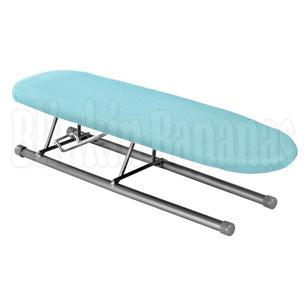 folding mini small table top ironing board sleeves collar. Black Bedroom Furniture Sets. Home Design Ideas
