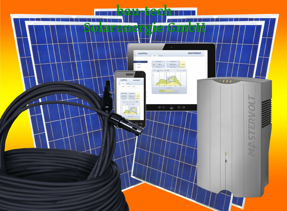 1250watt photovoltaikanlage eigenverbrauch plug play f r steckdose solaranlage ebay. Black Bedroom Furniture Sets. Home Design Ideas