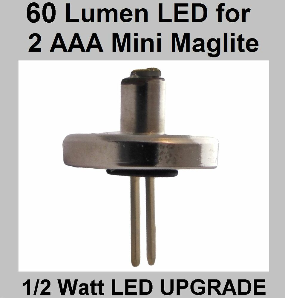 Mini Maglite Led 2 Aaa Torch Led Upgrade Bulb Brightest