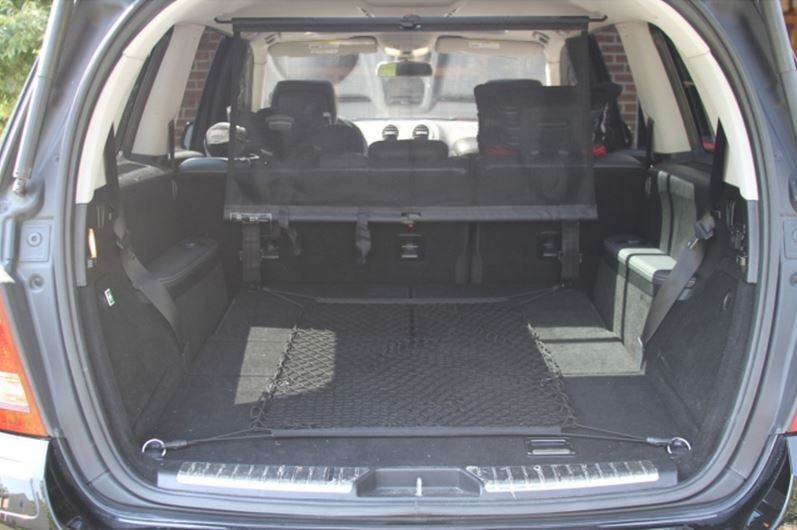 Floor style trunk cargo net for mercedes benz gl class for Mercedes benz 2007 gl450 accessories