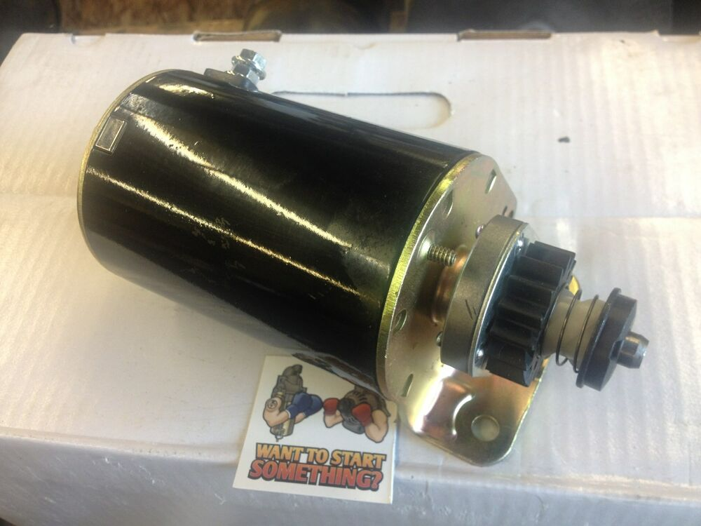 New Starter Motor Briggs And Stratton Engine 21a977 21b707