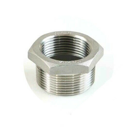 Pcs quot male female bspp stainless steel reducer