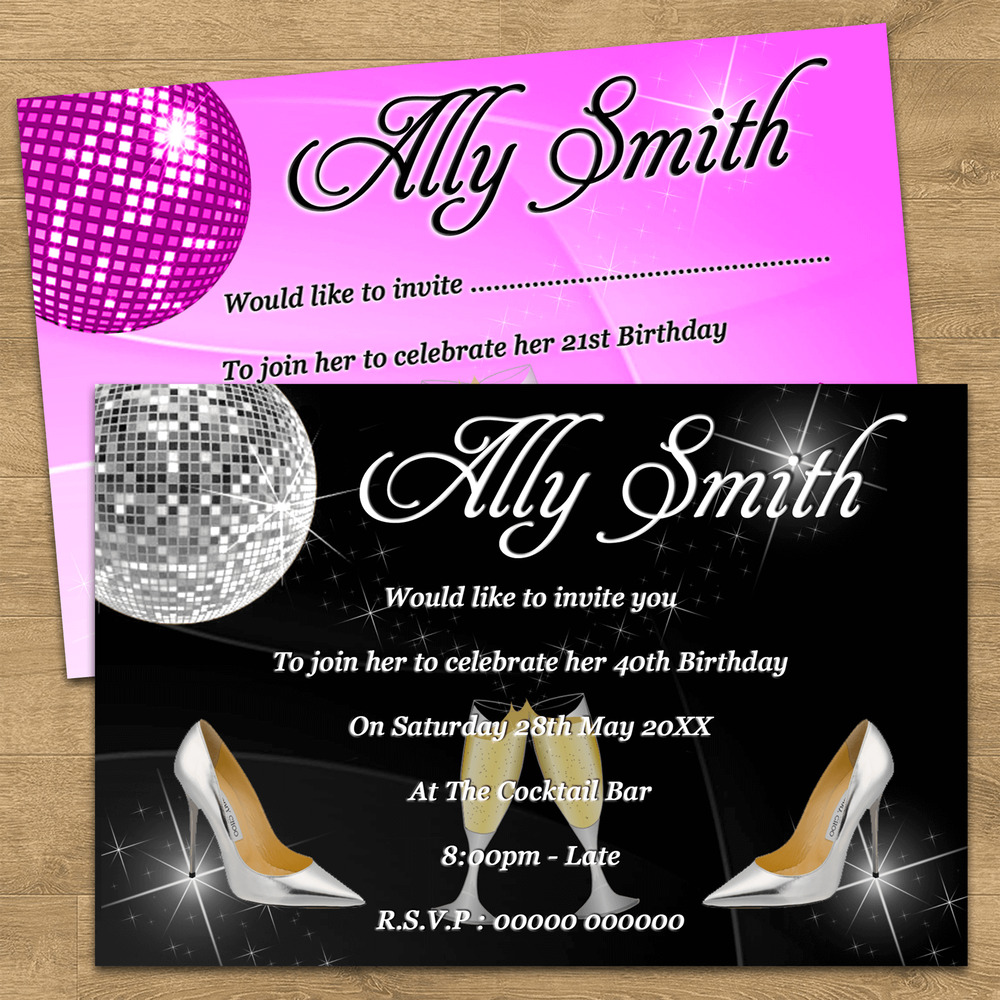 personalised 50th birthday invitations uk - 28 images - 50th ...