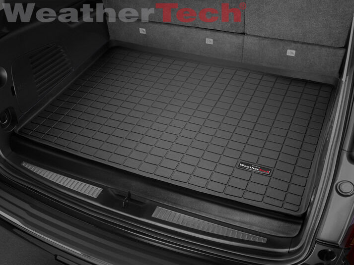 WeatherTech Cargo Liner for Chevy Suburban - 2015-2017 - Behind 3rd Row - Black | eBay