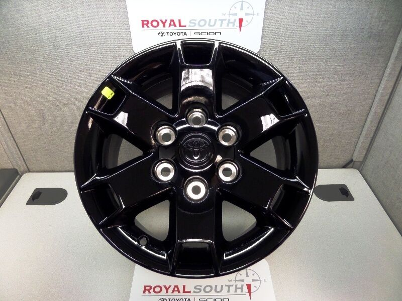 "2013 Toyota Tacoma For Sale >> Toyota Tacoma 16"" Black Gloss Baja Rims Wheel OEM OE Set ..."