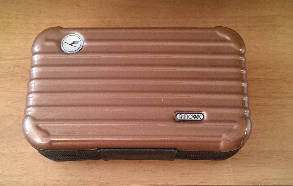 Rimowa amenity Kit for LUFTHANSA Airline First Class BROWN Case Only GERMANY  eBay