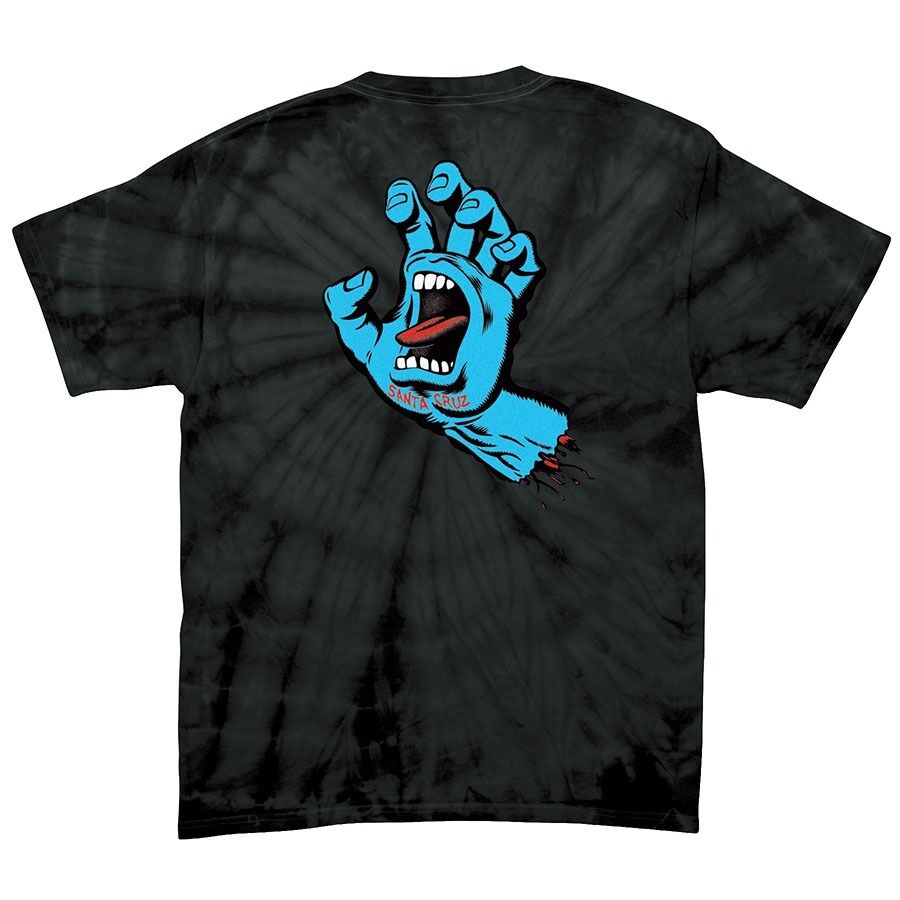 santa cruz screaming hand skateboard t shirt spider black xxl ebay. Black Bedroom Furniture Sets. Home Design Ideas