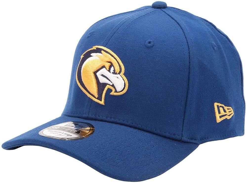 college ncaa marquette hawks blue gold fitted new era