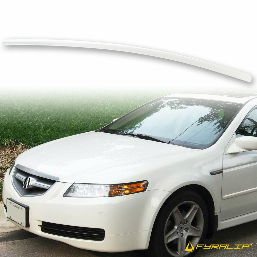 * PAINTED 2004-2008 For Acura TL TRUNK LIP SPOILER White