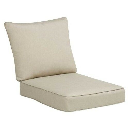 Rolston 2 piece outdoor seat back replacement chair loveseat cushion set ebay Loveseat cushions outdoor