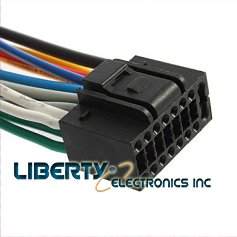 new 16 pin wire harness for pyle pldn74bti
