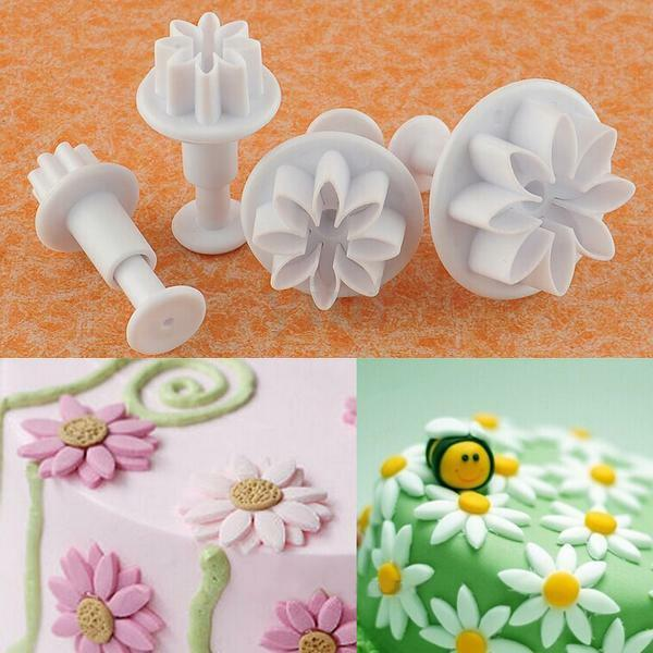 How To Make Decorations With Fondant Plunger