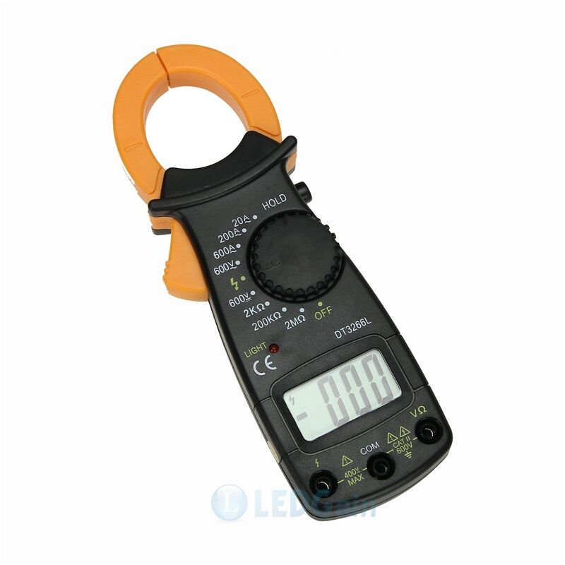 New Electrical Tester : New handheld needle clamp multimeter ammeter tester ac