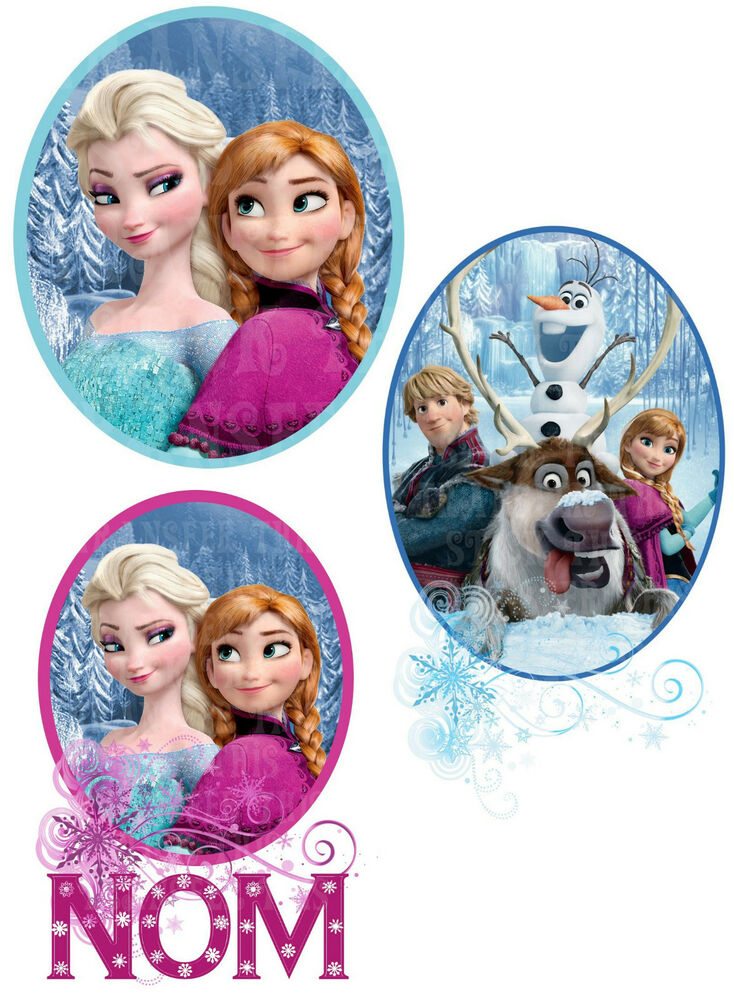 la reine des neiges frozen anna elsa sven olaf sticker. Black Bedroom Furniture Sets. Home Design Ideas