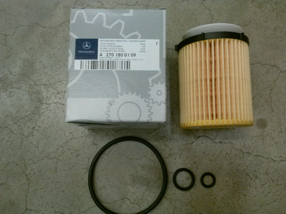 Genuine oem mercedes benz cla class c117 cla250 oil filter for Mercedes benz oil