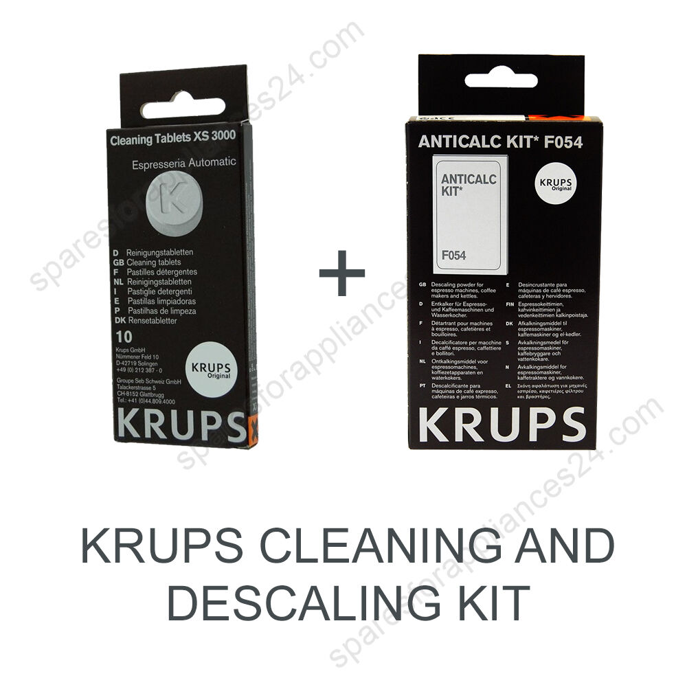 krups descaling kit f054 instructions