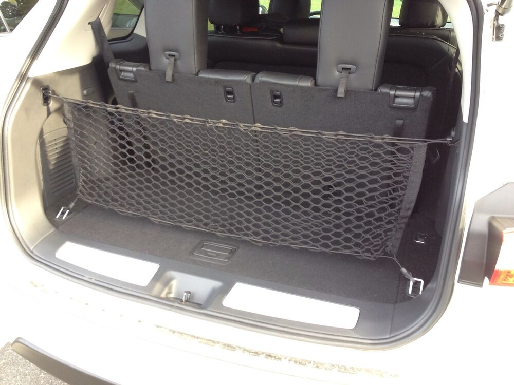 Infiniti Qx60 Interior >> Envelope Style Trunk Cargo Net for Infiniti QX60 JX35 NEW | eBay