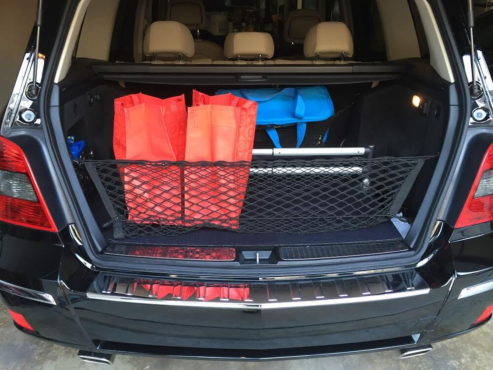 Envelope cargo net for mercedes benz glk300 glk350 2009 for Mercedes benz car trunk organizer
