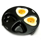 NORPRO 661 Nonstick Heart Shape 4 Egg Poacher