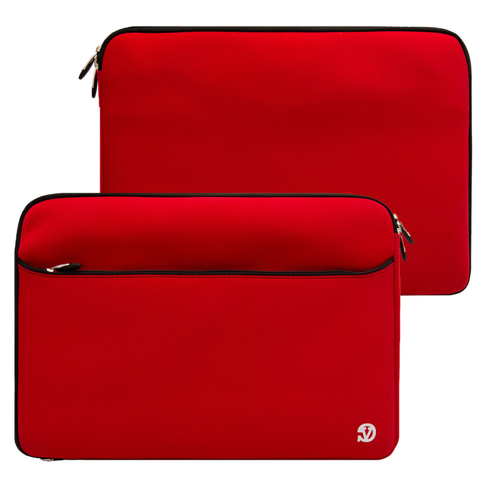 Red Neoprene Tablet Carrying Sleeve Case For Apple Ipad 2