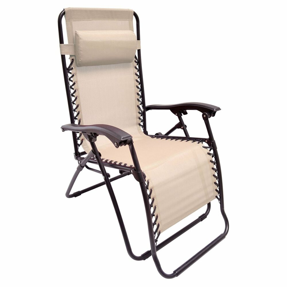 Zero gravity chair beige anti gravity chaise lounge for Chaise zero gravite