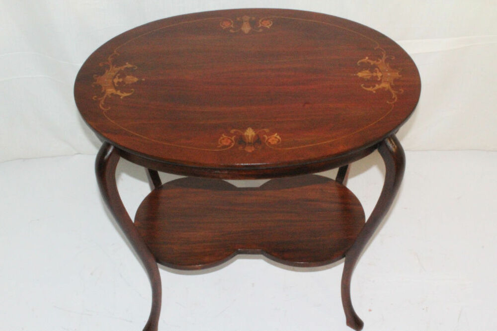 mahogany oval coffee table charming nouveau inlaid mahogany oval side end table 7324