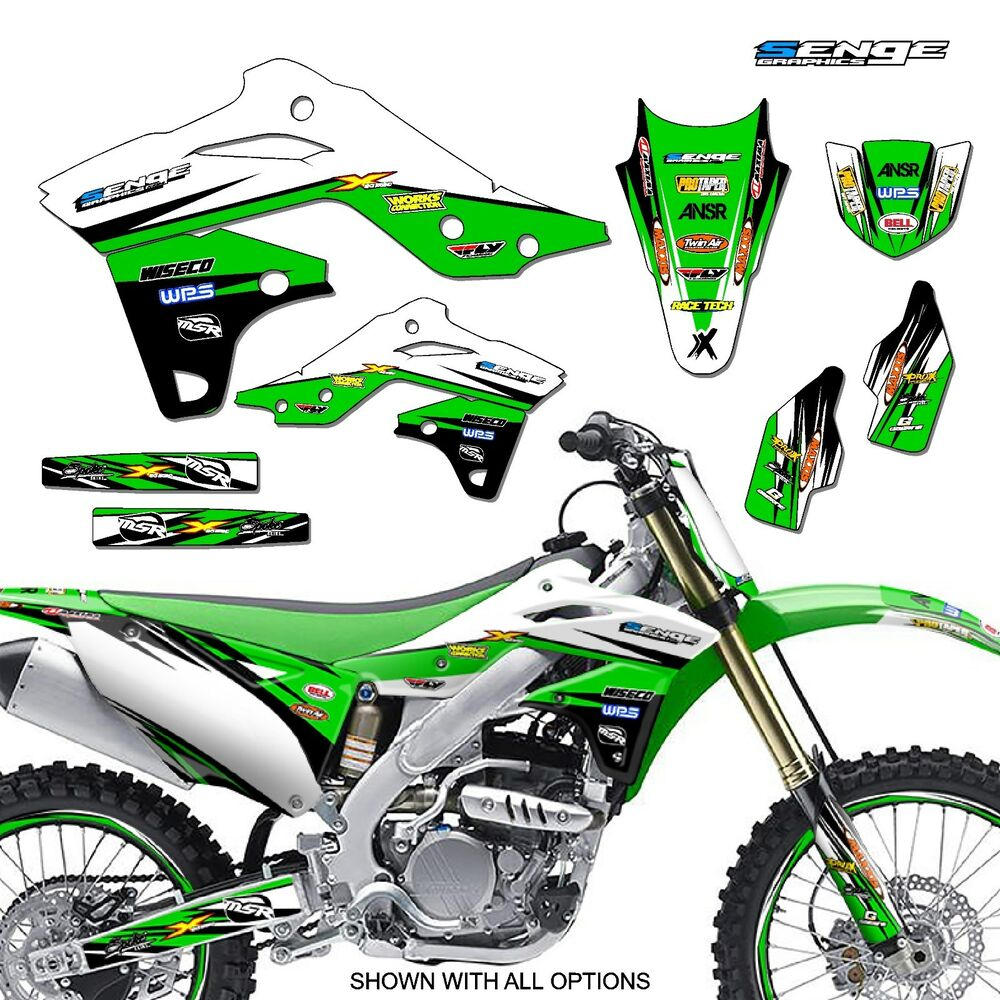 2014 2015 2016 2017 2018 kx 85 100 graphics kawasaki kx85 for Sticker deco