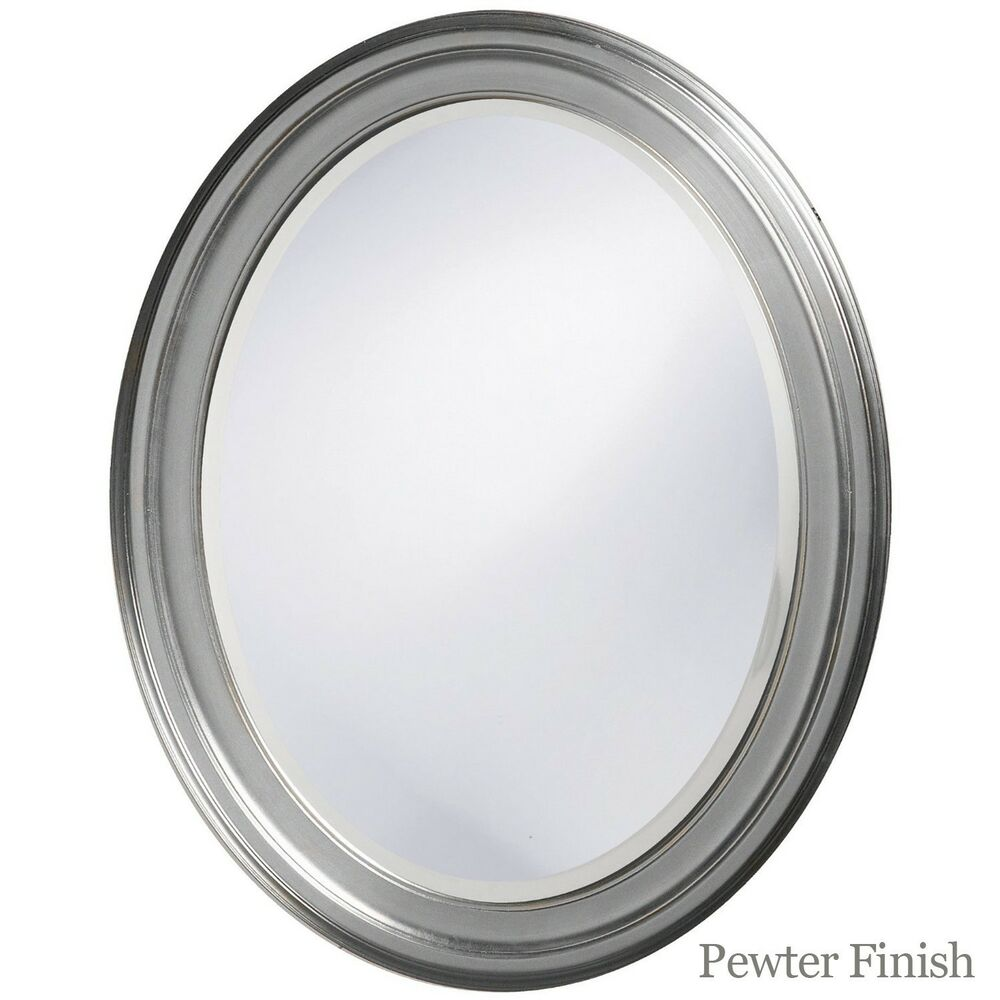 23 creative oval framed bathroom mirrors Oval bathroom mirror cabinet