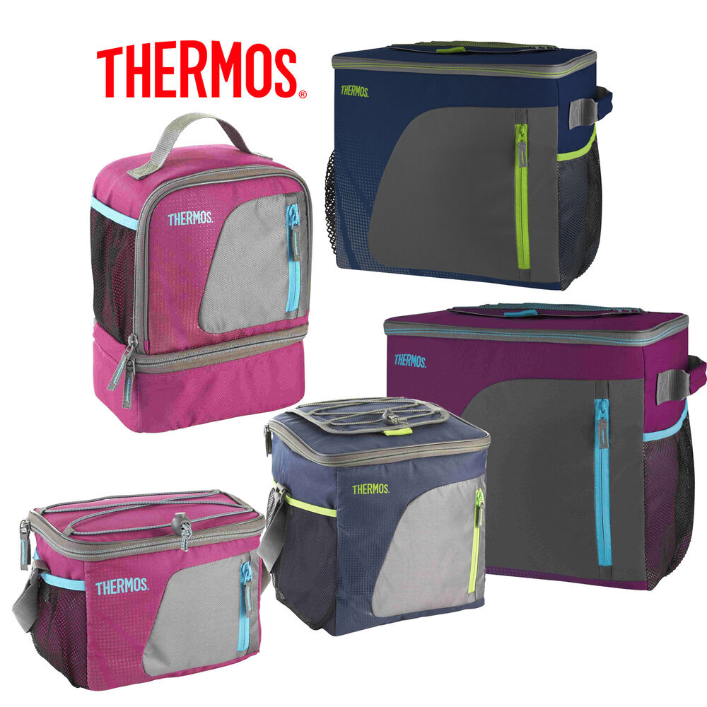 thermos radiance soft lunch kit can cooler dual. Black Bedroom Furniture Sets. Home Design Ideas