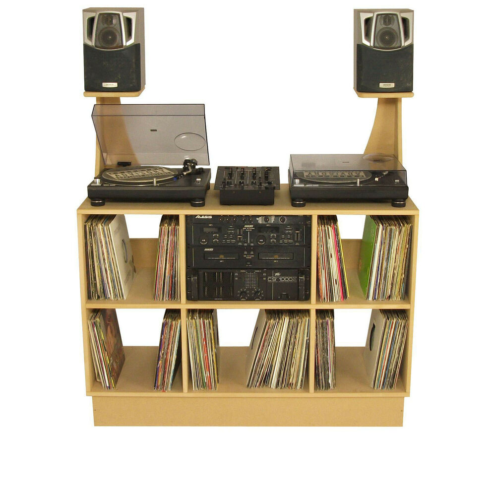 Dj Deck Stand Cdj Turntable Mixer Laptop Dj Stand Inc