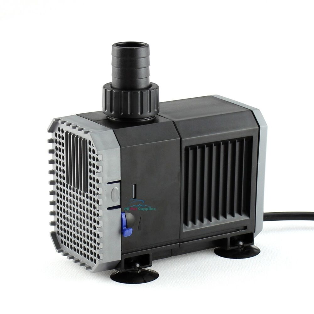 800 gph adjustable submersible water pump aquarium fish for Fish water pump