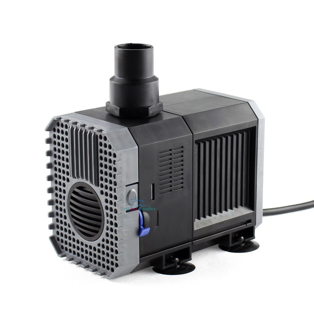 ... Submersible Water Pump Aquarium Fish Tank Fountain Hydroponic eBay