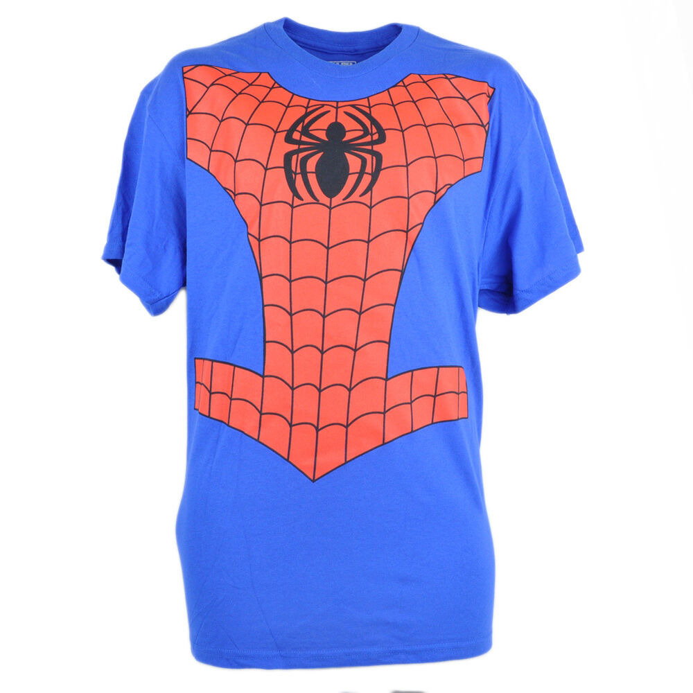 Even if you haven't been bitten by a radioactive spider, you can look like your favorite web-slinger in our Spider-Man clothing!