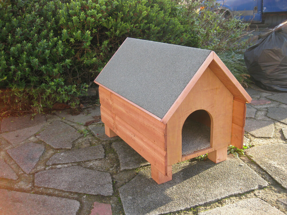 Outdoor Shelters For Pets : Wood top quality outdoor shelter cat small dog rabbit