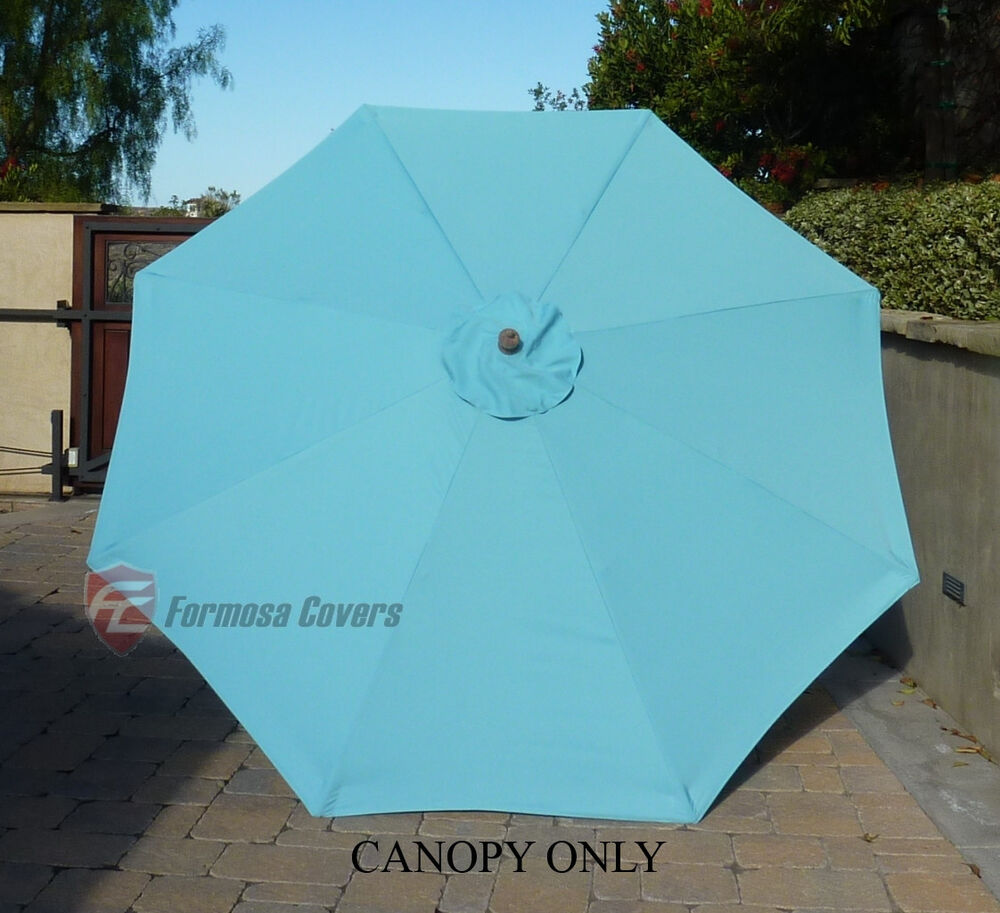 9ft Patio Outdoor Yard Umbrella Replacement Canopy Cover
