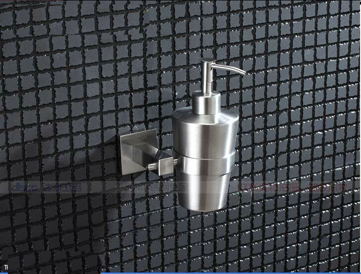 Modern Wall Mounted Stainless Steel Bathroom Soap Dispenser Liquid Soap Holder Ebay