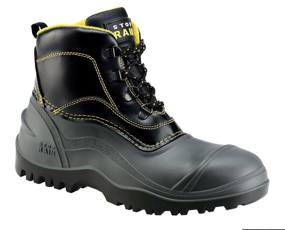 S5 Safety Boots Work Shoes Stop-Rain rubber boots rain ...