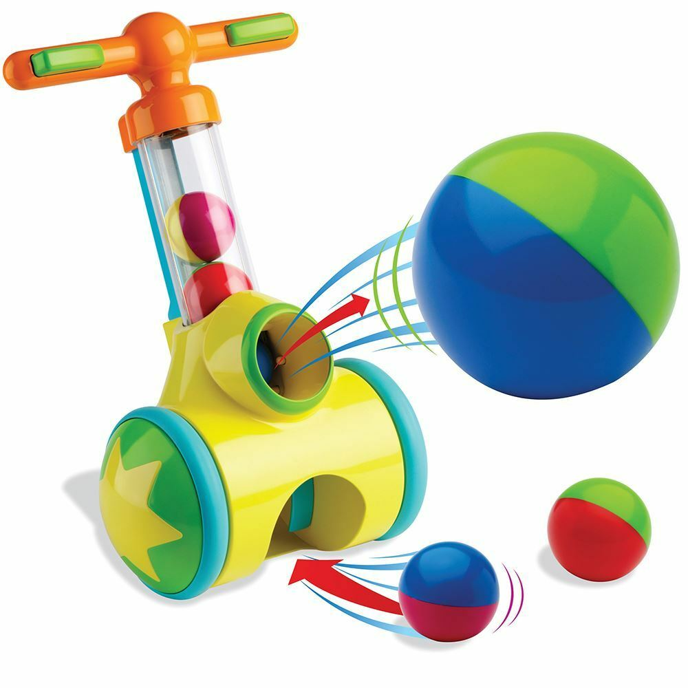 Ball Game Toy : Tomy pic n pop play to learn toddler push along toy