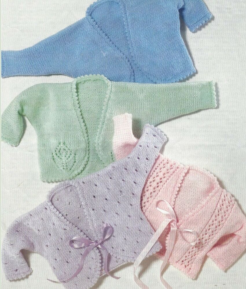 Free Knitting Pattern For Girls Bolero : Baby Girls Bolero Knitting Pattern 12-26